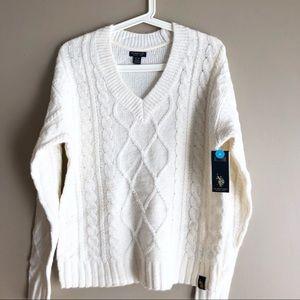 🎁5/100🎁 U.S. Polo chunky knit sweater